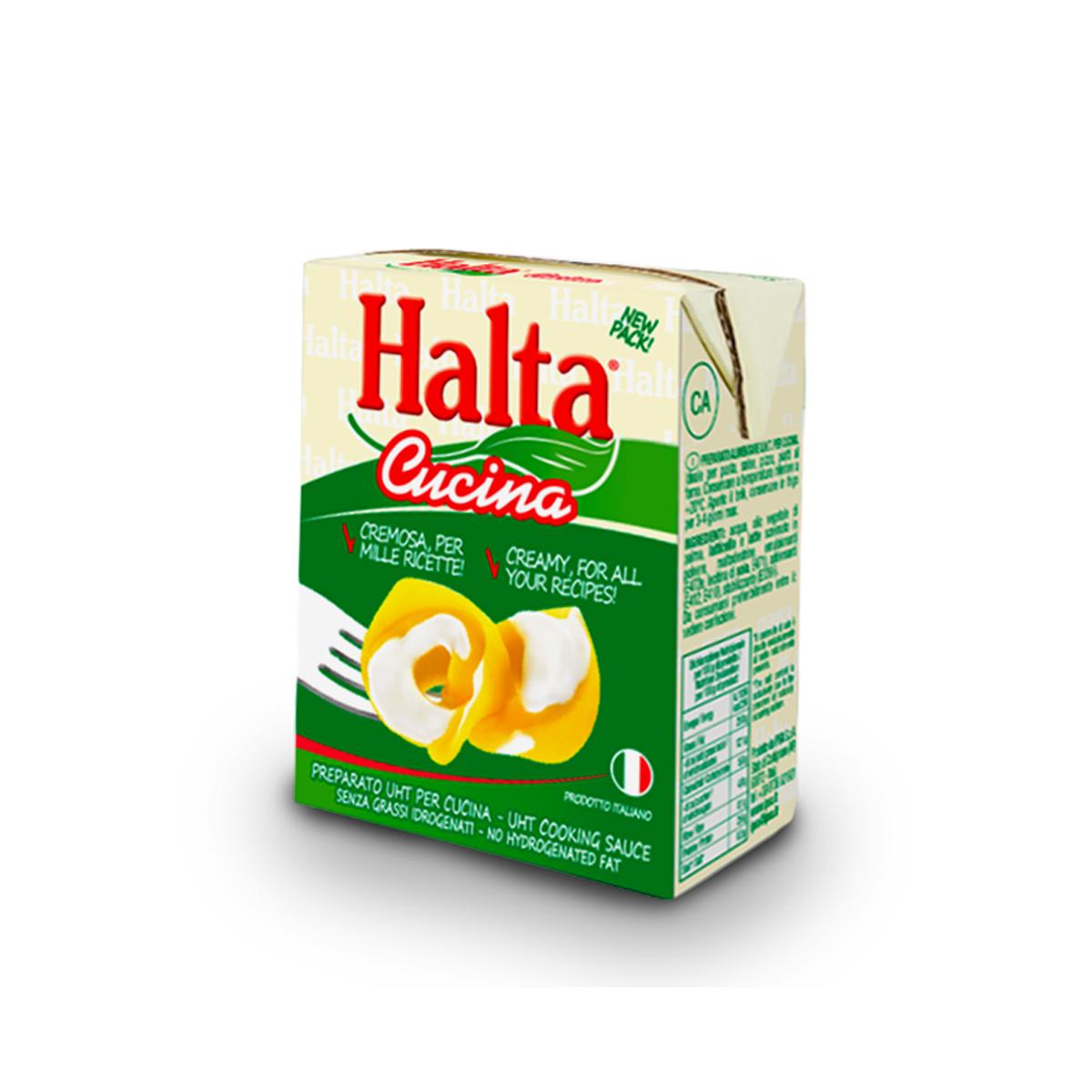 Crema de Leche Vegetal Halta Cucina 200 ml