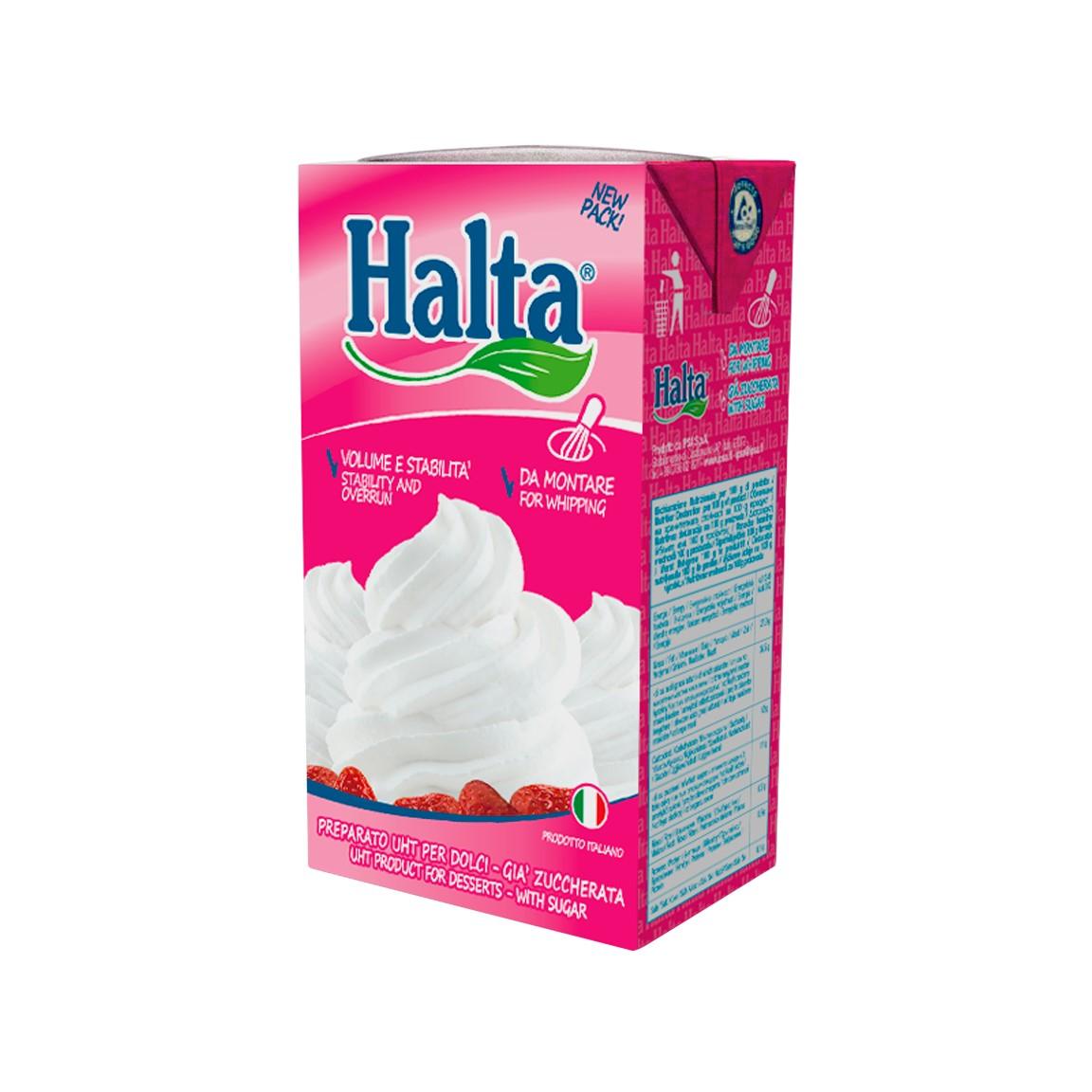 Crema de Leche Vegetal Halta Dulce 1 Litro