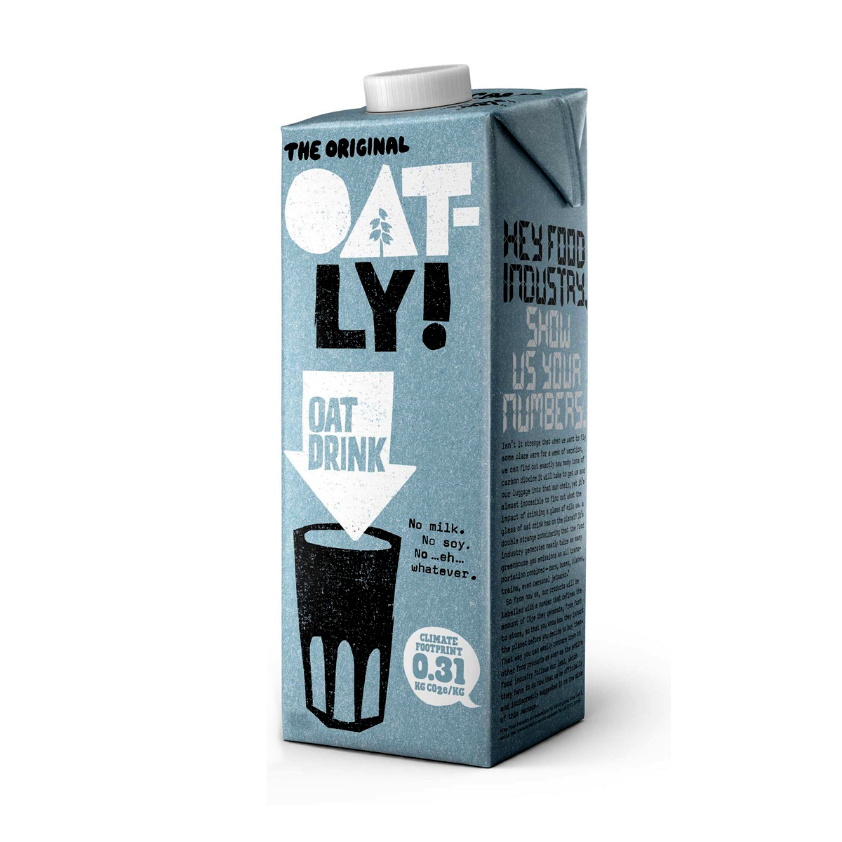 Leche de Avena Original Oatly 11 oz