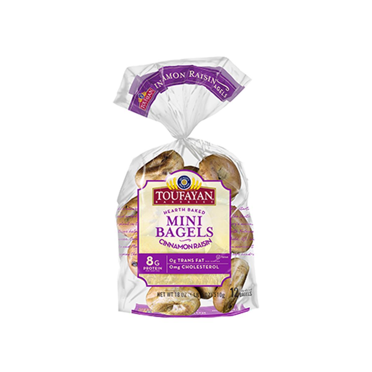 Mini Bagel Cinnamon