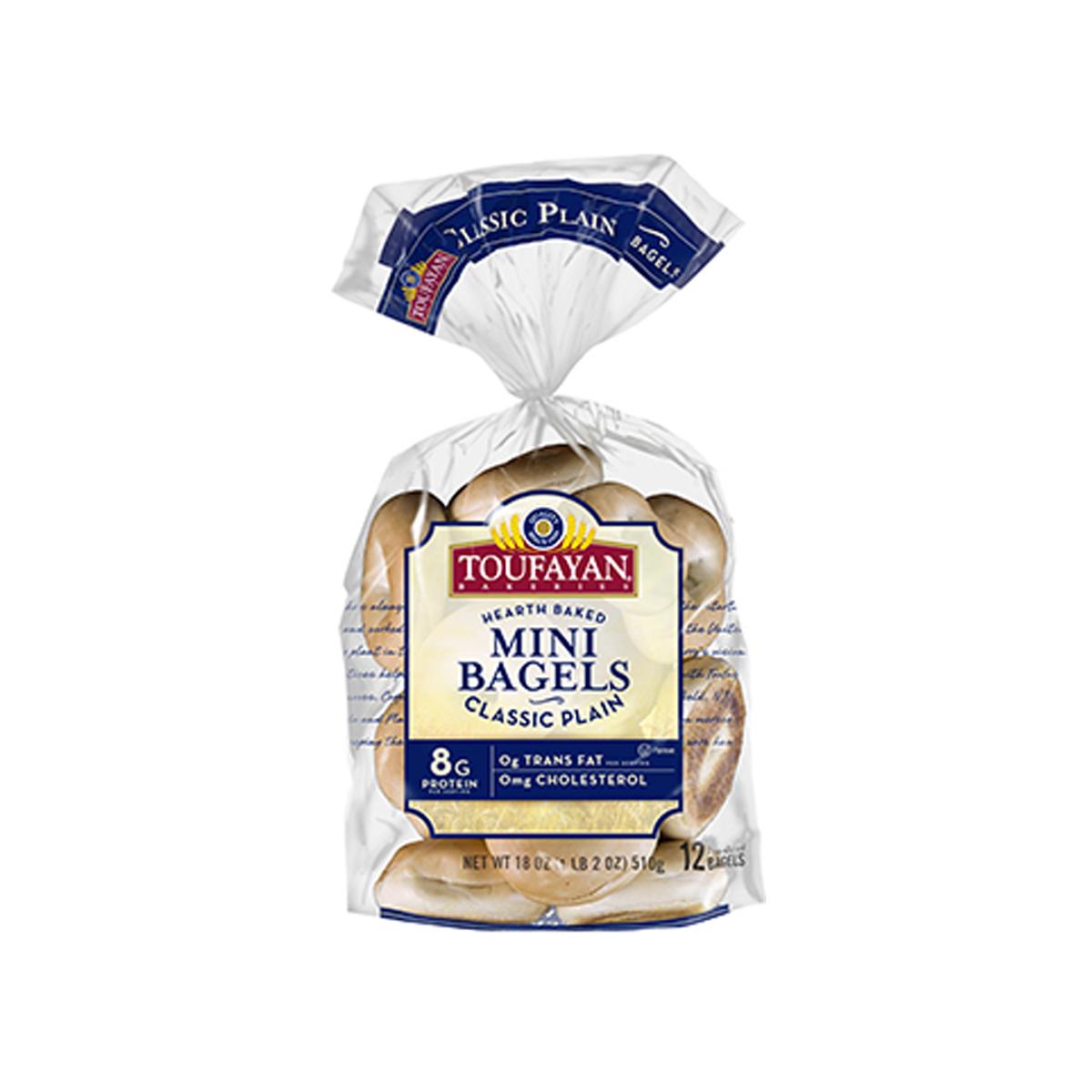 Mini Bagel Plain