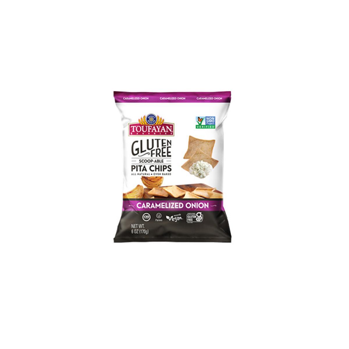 Pita Chips Caramelized Onions Gluten Free