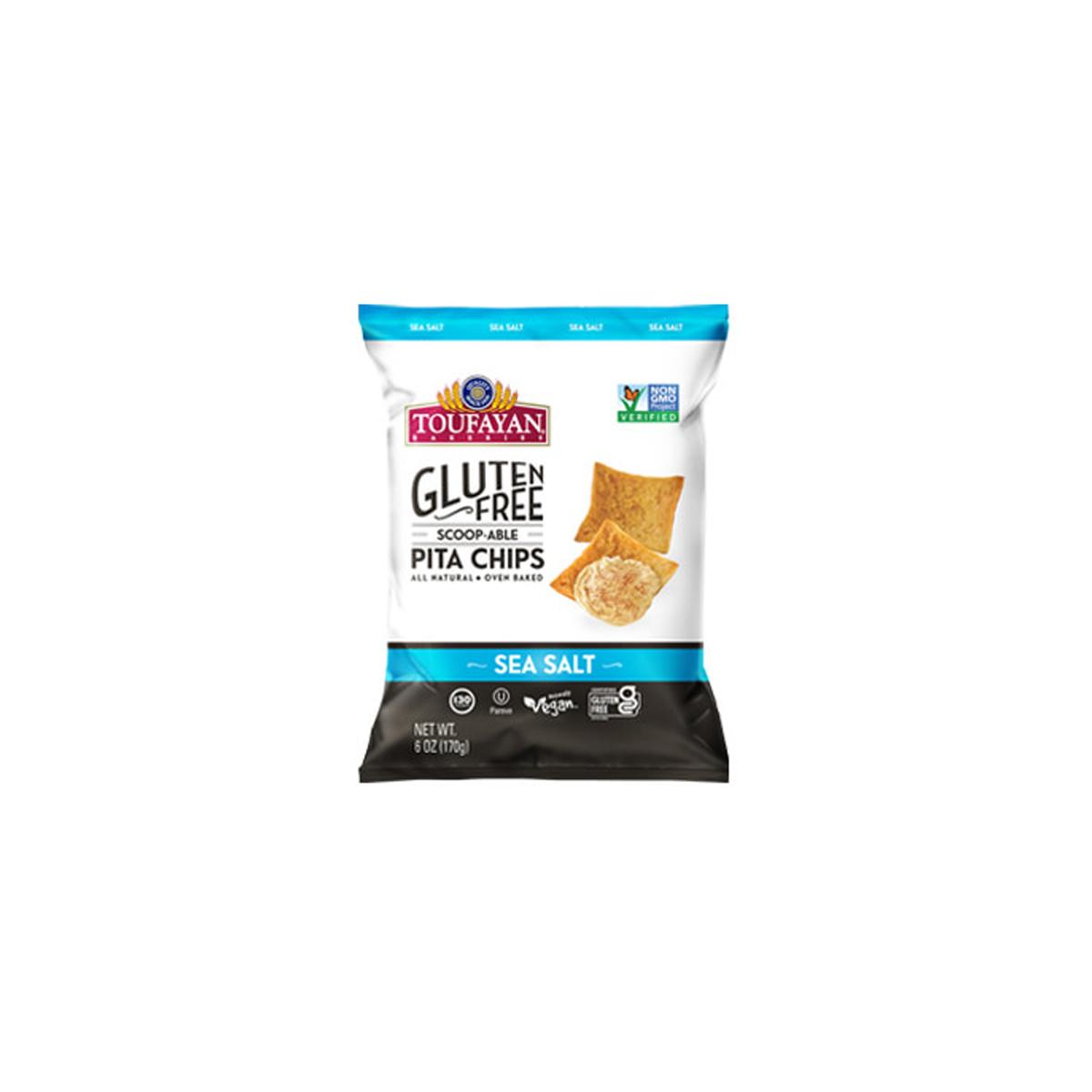 Pita Chips Sea Salt Gluten Free