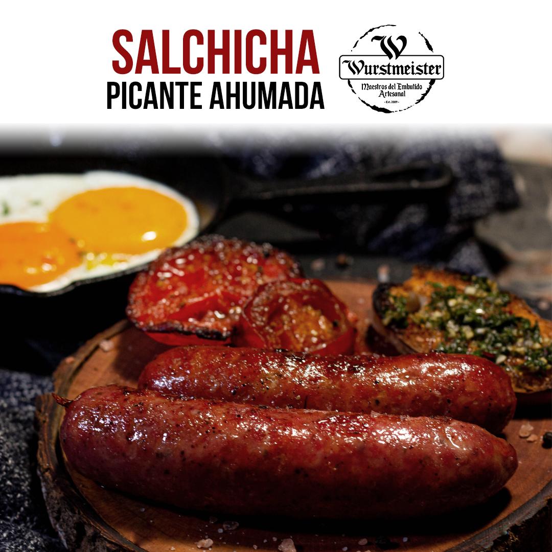 Salchicha Ahumada Picante Wurstmeister