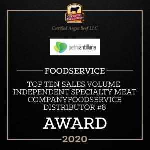 Premio al Distribuidor Independiente y a la Integridad de la Marca Certified Angus Beef®
