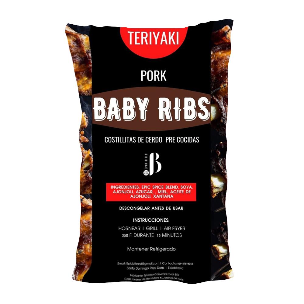 Costillas de Cerdo Precocidas Epic Bites Teriyaki