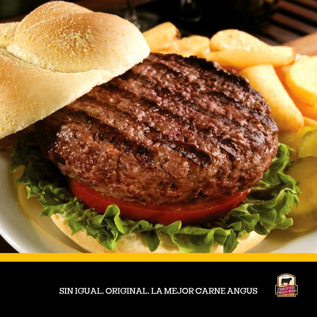 Hamburguesas 6 oz Certified Angus Beef®
