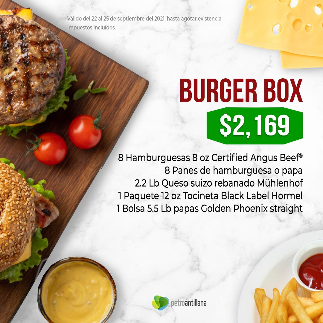 Burger Box 8 oz