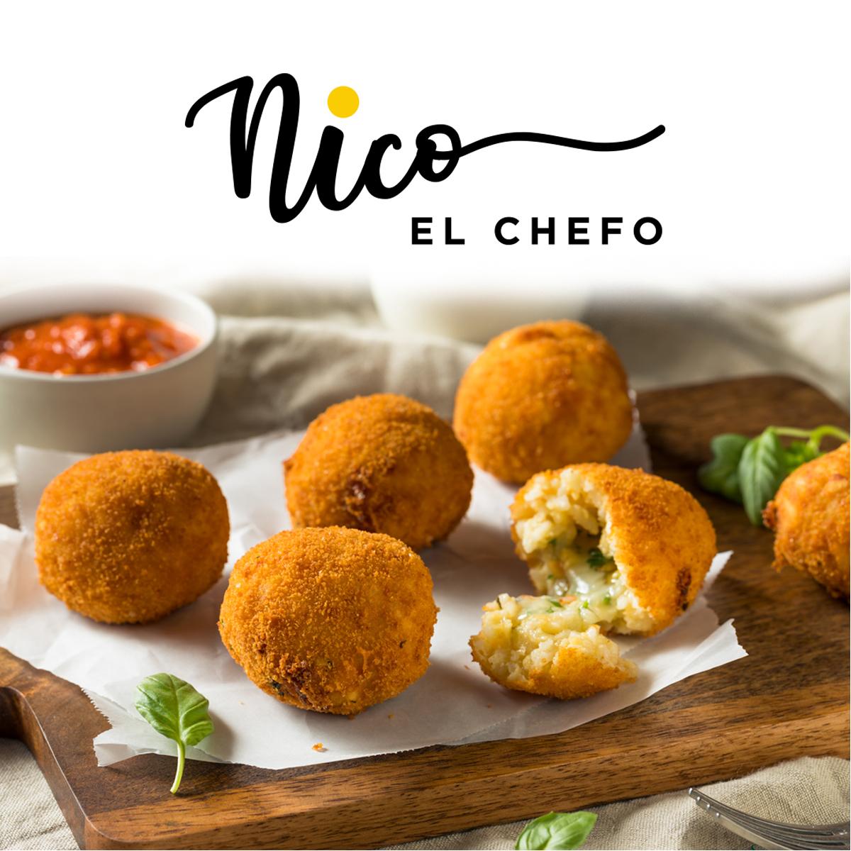 Arancini de Hongo y Trufa by Chef Nicolas Frigerio
