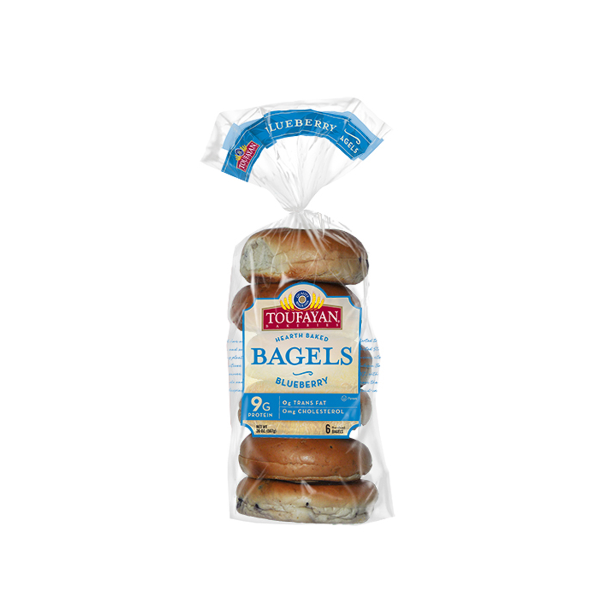 Bagel Blueberry Toufayan