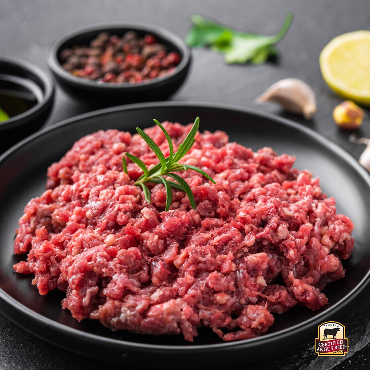 Carne Molida 80/20 Certified Angus Beef®, 3 LB
