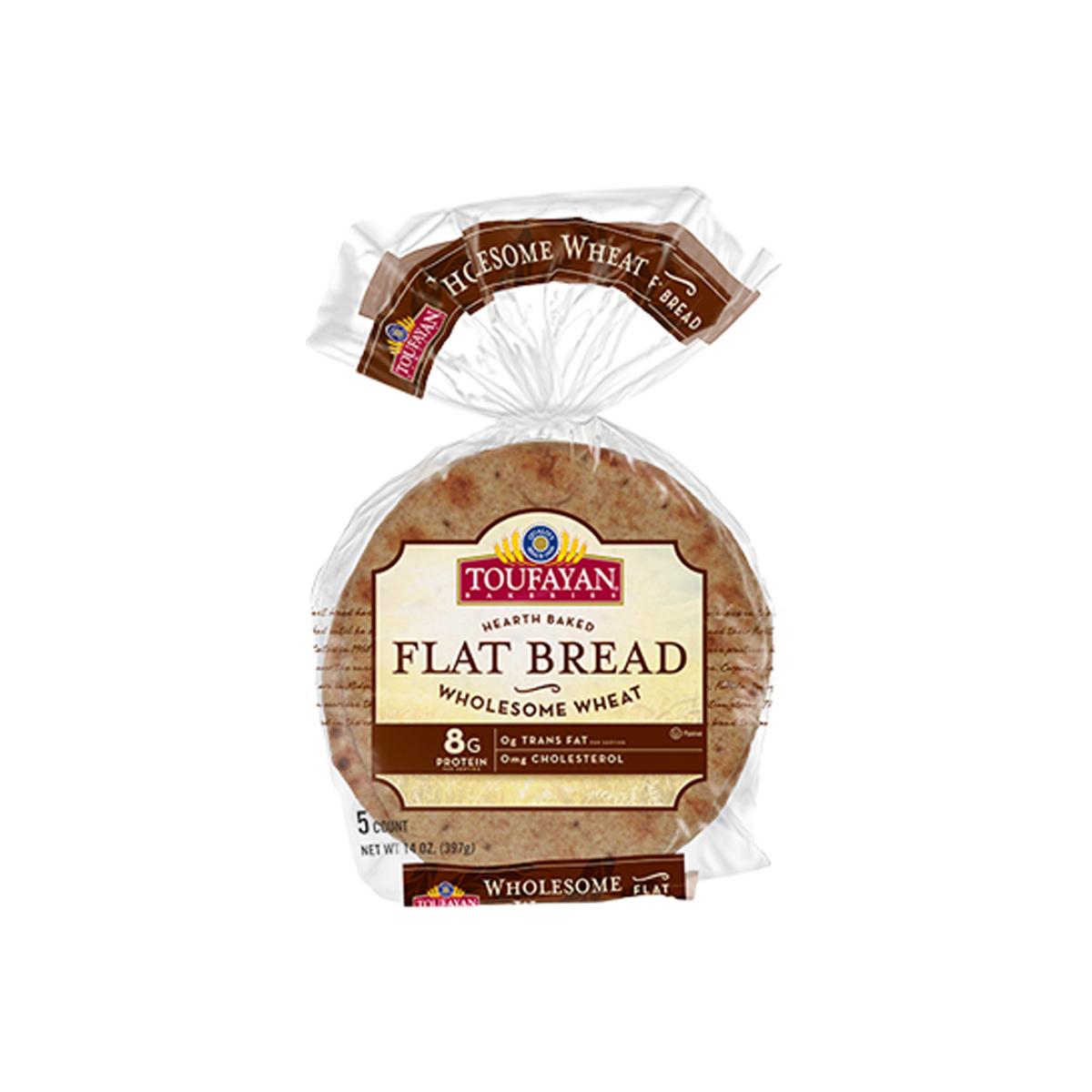 Flat Bread Integral Toufayan