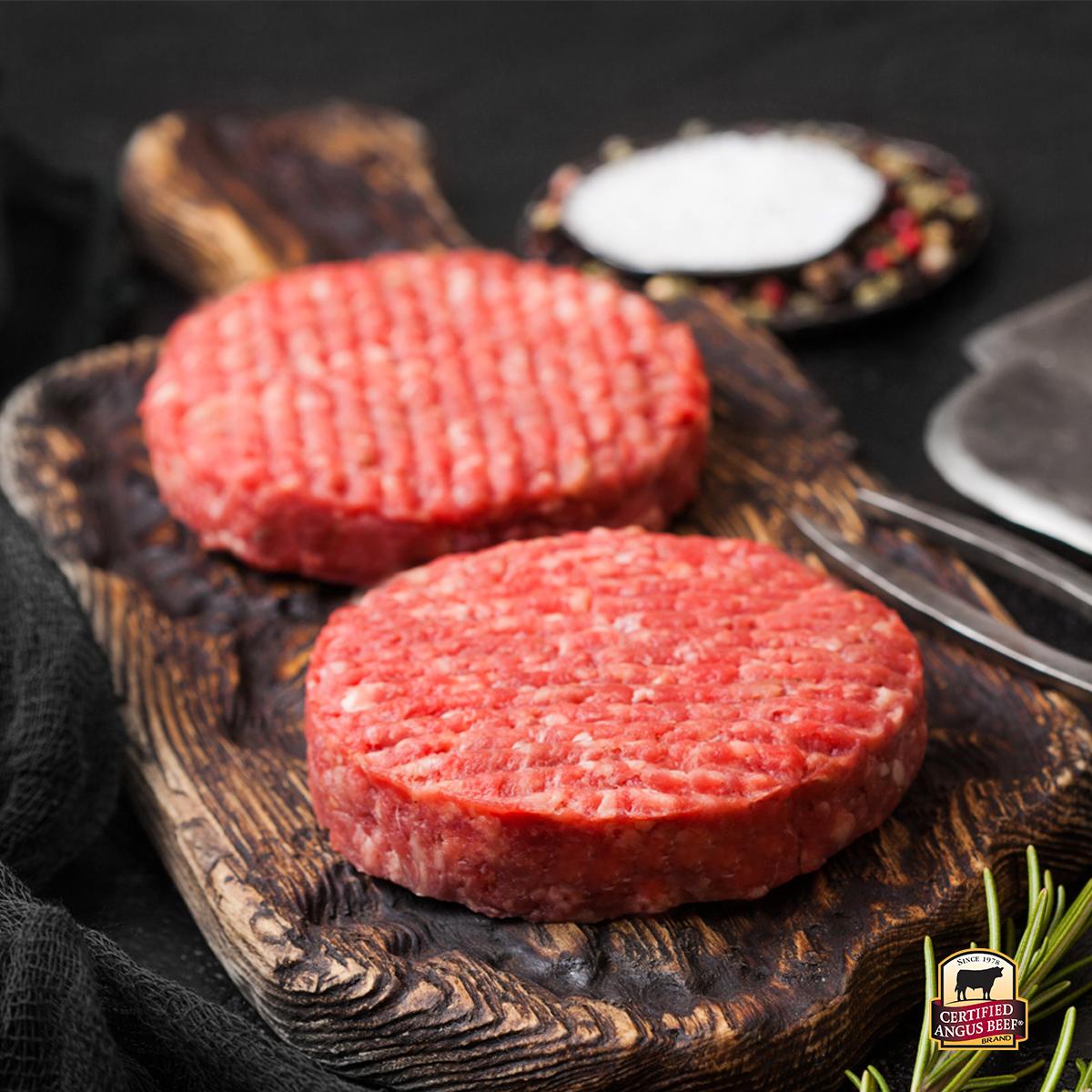 Hamburguesas 8 oz Certified Angus Beef®