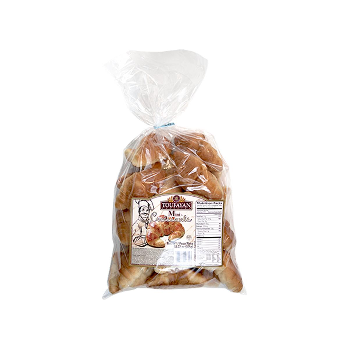 Mini Croissant 12 oz Toufayan
