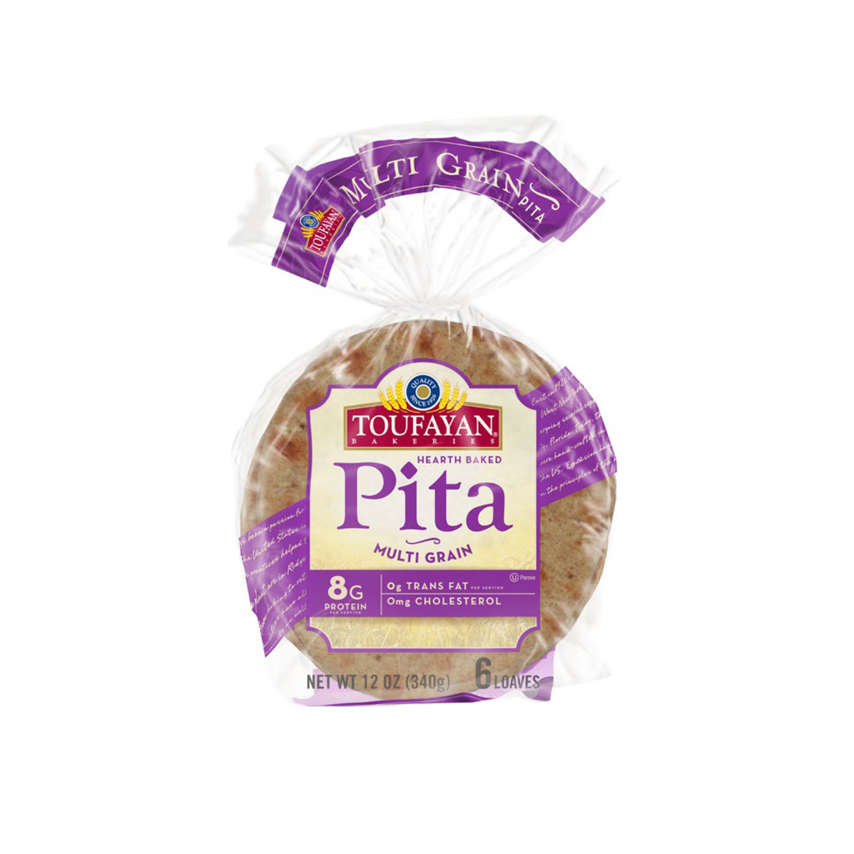 Pan Pita Multigrain