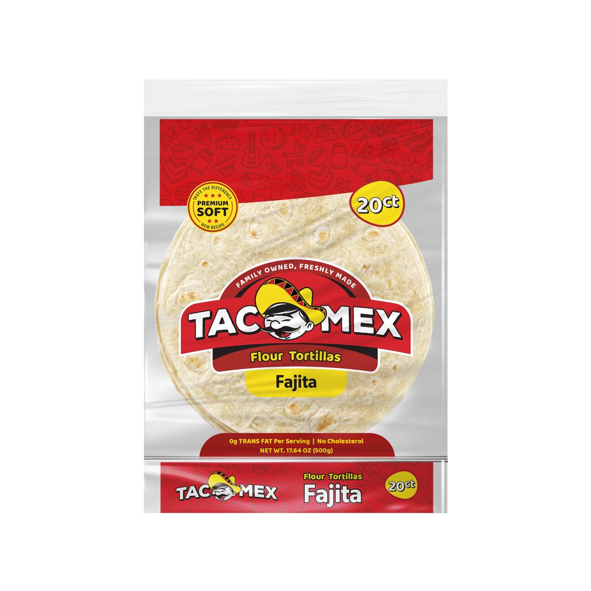 "Tortilla Trigo 6"" Fajita Tacomex"